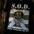 S.O.D. - TShirt or Longsleeve - S.O.D. - SPEAK ENGLISH OR DIE