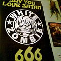 White Zombie - Other Collectable - White Zombie & Tenacious D poster
