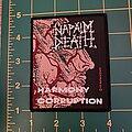 Napalm Death - Patch - Napalm Death Harmony Corruption