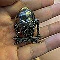 Megadeth - Pin / Badge - Vic Rattlehead pin