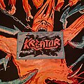 Kreator - Patch - Kreator Flag of hate patch