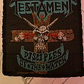 Testament - Patch - Disciples of the watch!