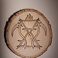 Cattle Decapitation - Other Collectable - Cattle Decapitation symbol woodburning