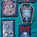 Arch Enemy - Patch - Napalm records patches