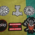 Assorted Patches (mostly viking related)