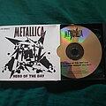 Metallica - Tape / Vinyl / CD / Recording etc - Metallica hero of the day CD single
