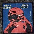 Black Sabbath - Patch - Black Sabbath - Born Again vintage patch
