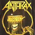 Anthrax 2013 Australian Tour Shirt