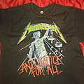 METALLICA And Justice For All TShirt or Longsleeve