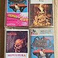 Sepultura - Tape / Vinyl / CD / Recording etc - SEPULTURA tapes