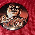 Destruction - Pin / Badge - DESTRUCTION old 80's button badge