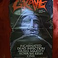 Grave - Other Collectable - GRAVE tour poster