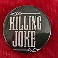 Killing Joke - Pin / Badge - KILLING JOKE old 80's button badge
