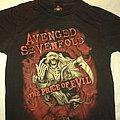 AVENGED SEVENFOLD The Price Of Evil Tour 2011 TShirt or Longsleeve