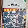 Venom - Tape / Vinyl / CD / Recording etc - VENOM Welcome To Hell tape