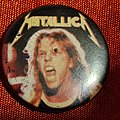 Metallica - Pin / Badge - METALLICA old 80's button badge