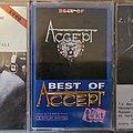Accept - Tape / Vinyl / CD / Recording etc - ACCEPT tapes