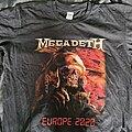 Megadeth - TShirt or Longsleeve - MEGADETH Europe 2020