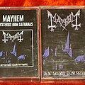 Mayhem - Tape / Vinyl / CD / Recording etc - Mayhem tapes