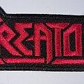 Kreator - Patch - KREATOR logo patch