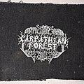 Carpathian Forest - Patch - CARPATHIAN FOREST logo patch