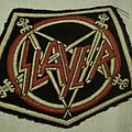 SLAYER old rubber stripe Patch