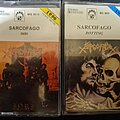 Sarcofago - Tape / Vinyl / CD / Recording etc - SARCOFAGO tapes