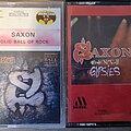 Saxon - Tape / Vinyl / CD / Recording etc - SAXON tapes