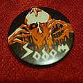Sodom - Pin / Badge - SODOM old 80's button badge