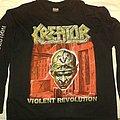 KREATOR Vilent Revolution Tour 2001 longsleeve XL TShirt or Longsleeve