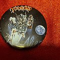 Tankard - Pin / Badge - TANKARD old 80's button badge
