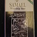 Samael - Tape / Vinyl / CD / Recording etc - SAMAEL Worship Him tapes