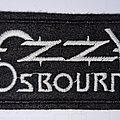 Ozzy Osbourne - Patch - OZZY OSBOURNE logo patch