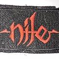 Nile - Patch - NILE logo patch