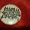 Morbid Angel - Pin / Badge - MORBID ANGEL old 80's button badge