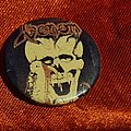 Venom - Pin / Badge - VENOM old 80's button badge
