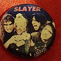 Slayer - Pin / Badge - SLAYER old 80's button badge