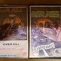 Overkill - Tape / Vinyl / CD / Recording etc - OVER KILL tapes