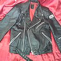 Leather Jacket oldschool  SOLD