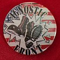 Agnostic Front - Pin / Badge - AGNOSTIC FRONT old 80's button badge