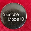 Depeche Mode - Pin / Badge - DEPECHE MODE old 80's button badge