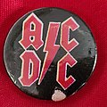 AC/DC - Pin / Badge - AC/DC old 80's button badge