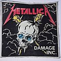 Metallica - Patch - METALLICA old rubber patch