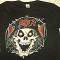 Slayer - TShirt or Longsleeve - SLAYER Skull in Iron Cross