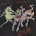 Tour shirt Hell Awaits 1985