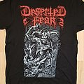 Deserted Fear - TShirt or Longsleeve - deserted fear - drowned by humanity tour 2019 - tshirt