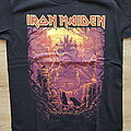 Iron Maiden - TShirt or Longsleeve - iron maiden - the book of souls world tour 2016 - shadows of the valley,...