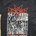 Desaster - TShirt or Longsleeve - desaster - two decades of pure blasphemy - tshirt