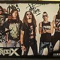 Crisix Signed Card