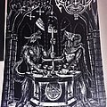 Satanic Warmaster / Archgoat - Lux Satanae (Thirteen Hymns of Finnish Devil Worship) Flag Other Collectable
